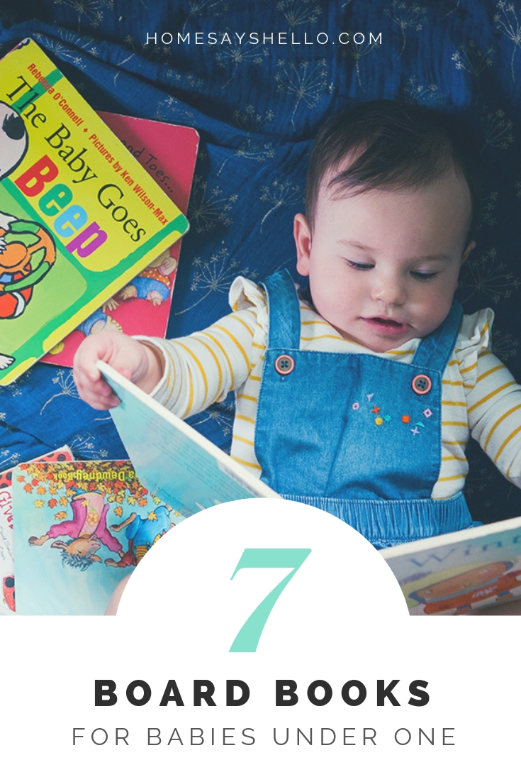 7 library board books for babies under one - october library book haul