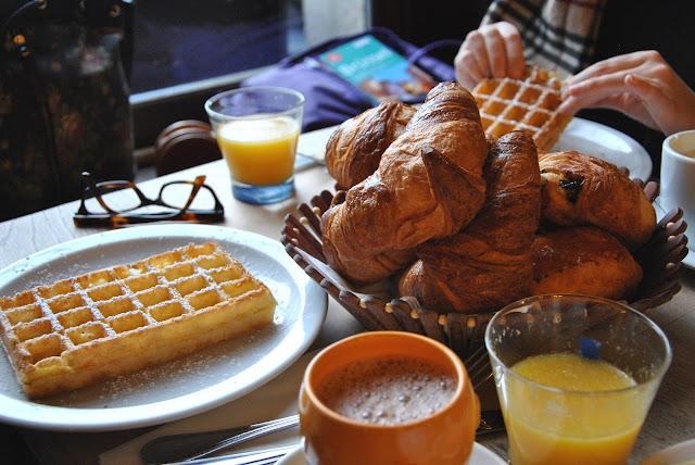 Frühstückssnack im La Brouette