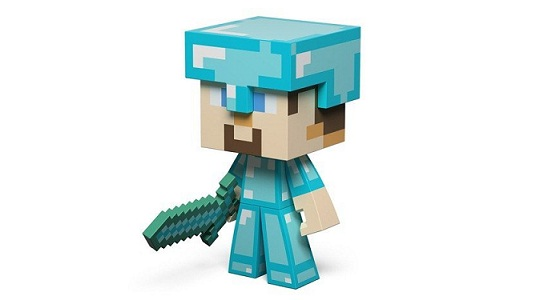 The Diamond Steve Action figure