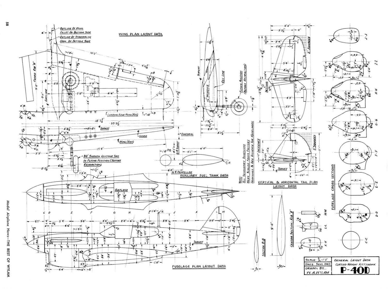Model News P 40 Warhawk Trumpeter 1 32