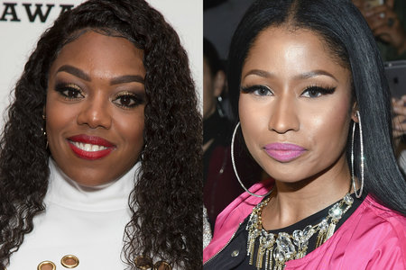 Nicki Minaj Have encounter A Woman Lady Leshurr Aimed with Diss Record After Remy Ma,Says A Record Label Offered Her $250k To Diss Nicki Minaj