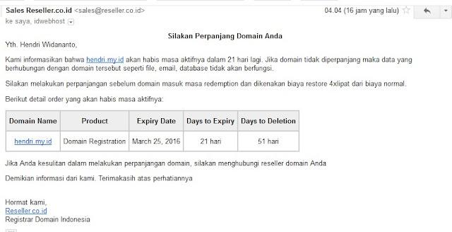 Domain Expired bersamaan di Bulan Maret ini