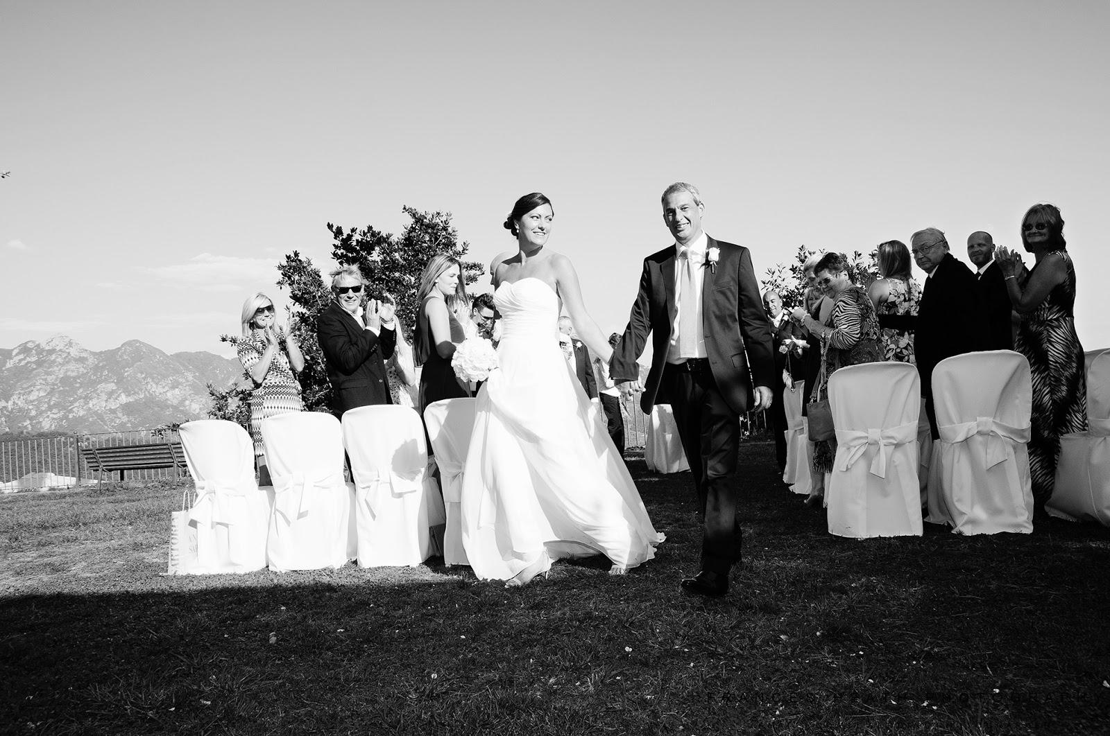 Wedding ceremony in Ravello Italy