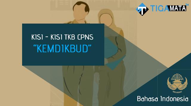 Kisi - Kisi TKB Bahasa Indonesia CPNS Kemdikbud (D3, S1, S2)