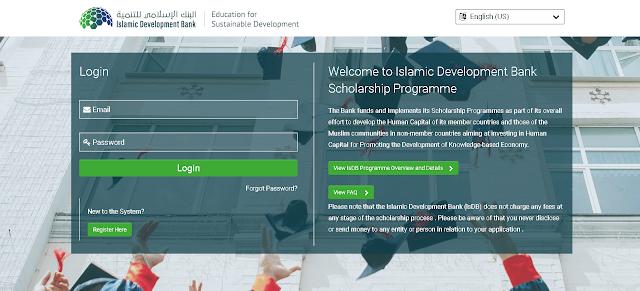 Islamic Development Bank (IsDB) Scholaraships