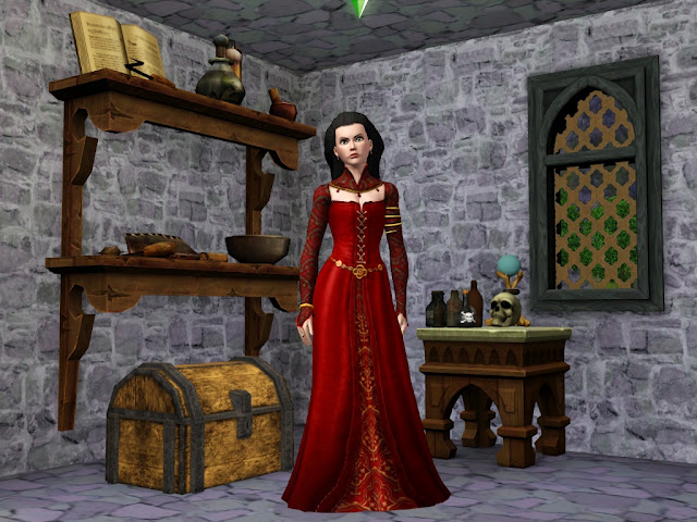 My Sims 3 Blog More Dresses From The Sims Medieval