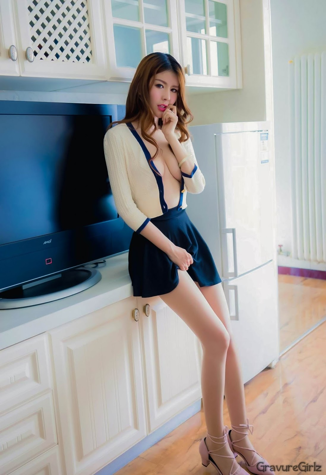 Zhao Meng Jie 赵梦洁 Topless Uncensored MiStar No.103 | Page ...