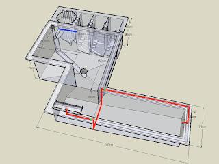 filter kolam koi dengan sistem vortex | jmo nishikigoi