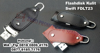 USB Leather Swivel, USB Flashdrive Kulit Swivel, Flashdisk Kulit Swift FDLT23, Jual Usb Kulit Promosi FDLT23, USB KULIT SWIVEL FDLT23, flashdisk kulit unik & menarik dengan harga murah