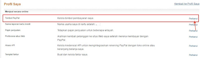 membuat tombol donate paypal