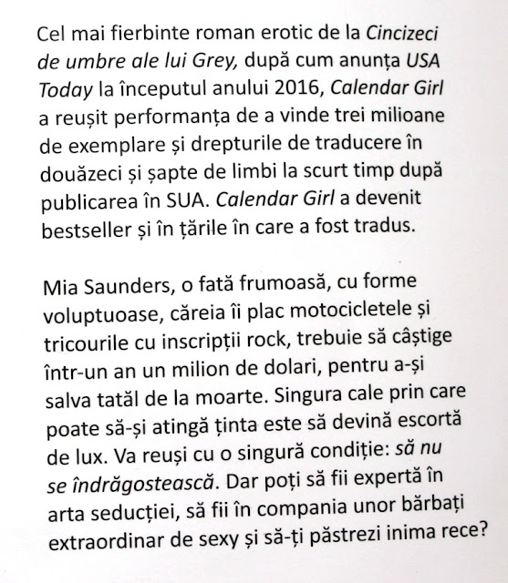 Calendar girl de Audrey Carlan, recenzie vol. I