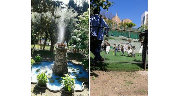 jardin secreto en Barcelona