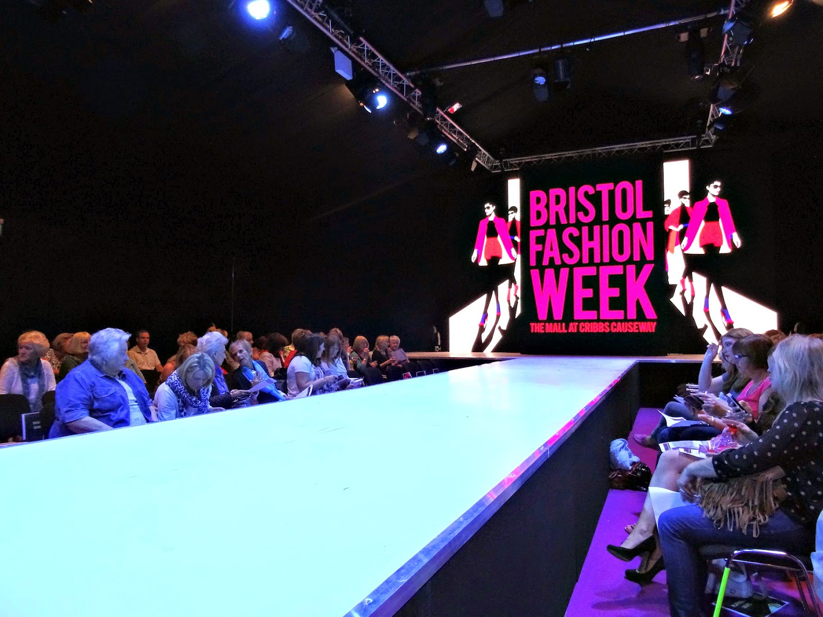 The runway at Bristol Fashion Week