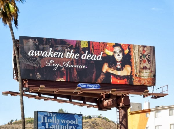 Awaken the Dead Leg Avenue billboard