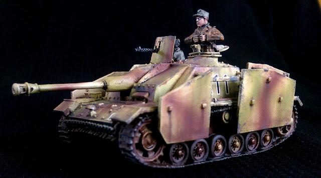 JTFM Die Waffenkammer 1/56 Stug 28mm Panzer tank crew