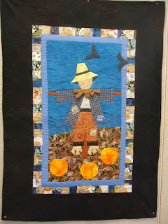 Patches the Pumpkin Patch Protector wall quilt