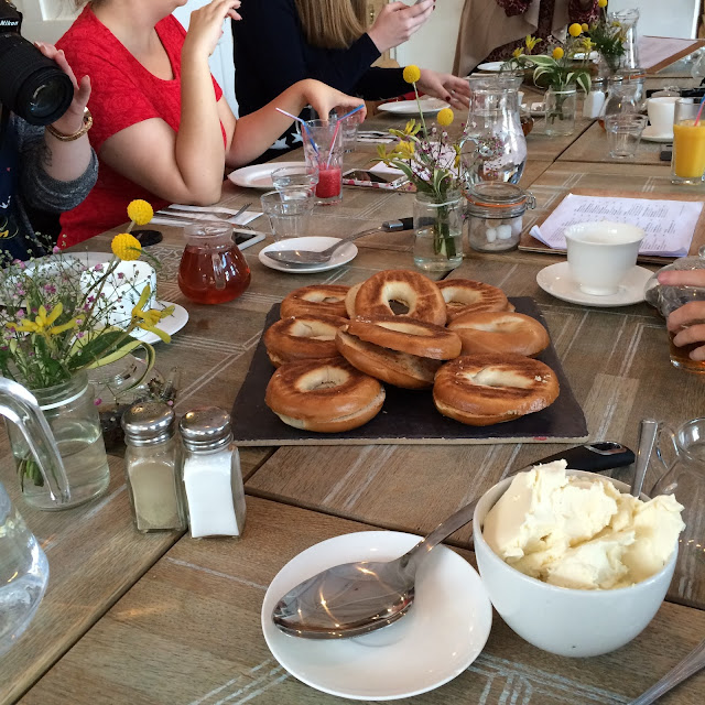 blogger brunch bagels propertea rooms manchester