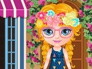 Baby Barbie decided to go to the flower shop and get a job. At the flower shop she can smell the roses, watch the tulips grow and water the orchid. She has decided to slack a bit while she works there, and she has many activities in mind. Baby Barbie need help to plant a few flowers in their pots, solve a puzzle with her favorite princess on it, match a few cards with pretty flowers on them and many other such fun ideas. To remove the petals from a flower and count to see if her crush loves her or not.