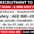 Urgent Recruitment for Cleaners in DUBAI: Etisalat Company