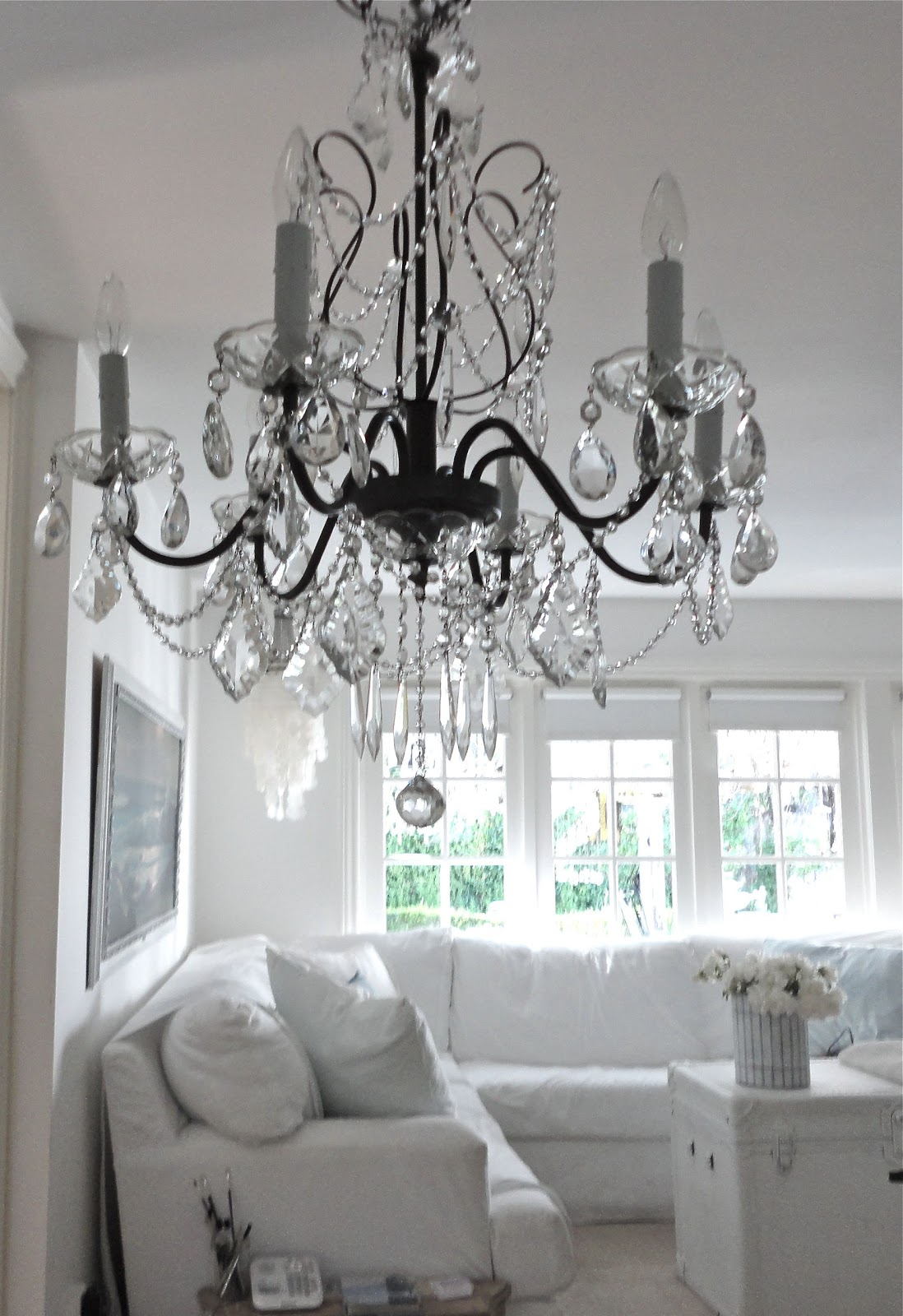 Chandeliers Sunday Dinner Table