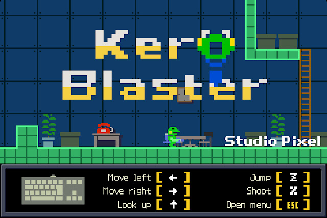 Las plataformas de Kero Blaster ya disponibles en Steam
