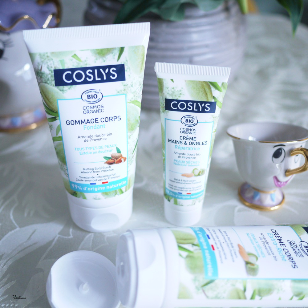 Coslys : Gamme corps à l'amande, soin naturel, bio et made in france !