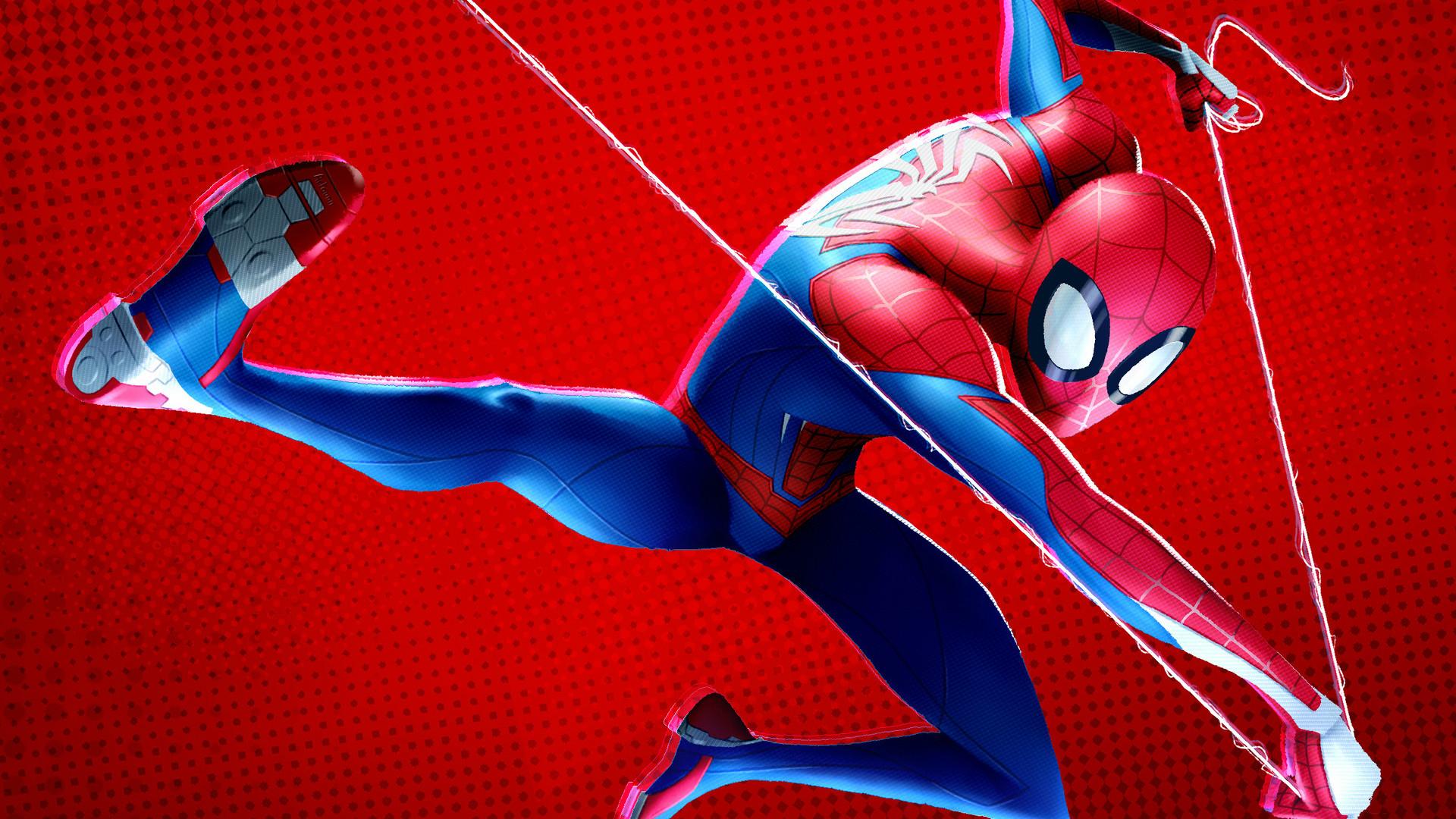 Download spider Man into the Spider verse 2018 sub Indo online