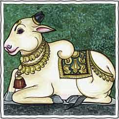 वास्तु अनुसार घर में कहाँ रखे नंदी बैल - where to place nandi bull at home of office