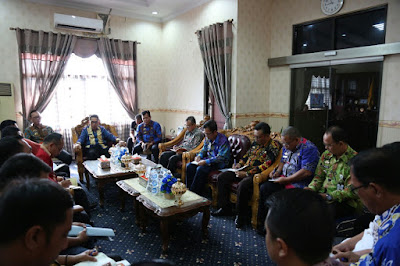 Pemkab Lampung Timur Bahas Penanganan Pasca Banjir