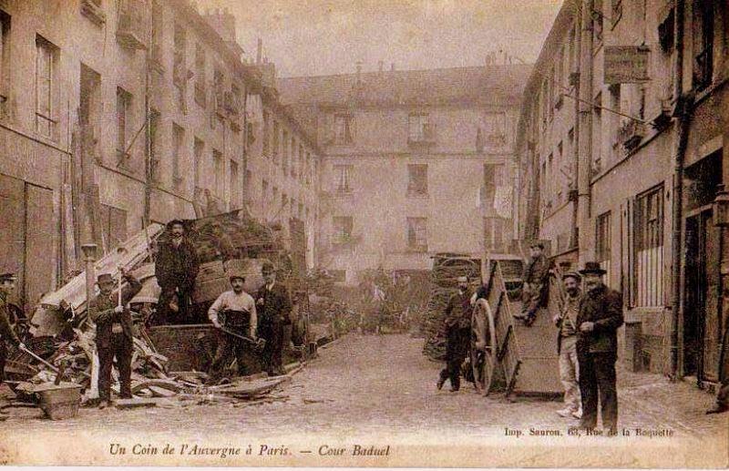 CPA Ferrailleurs Auvergnats de Paris