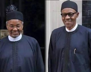 Buhari and Mamma Daura