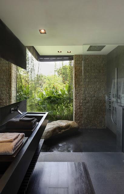 ห้องน้ำแบบธรรมชาติ