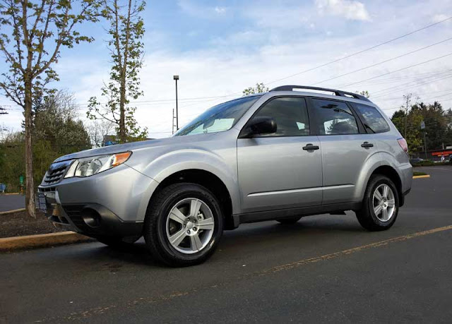 Our new 2012 Subaru Forester 2.5X