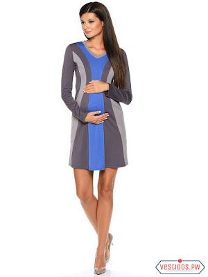 vestidos para embarazadas de noche