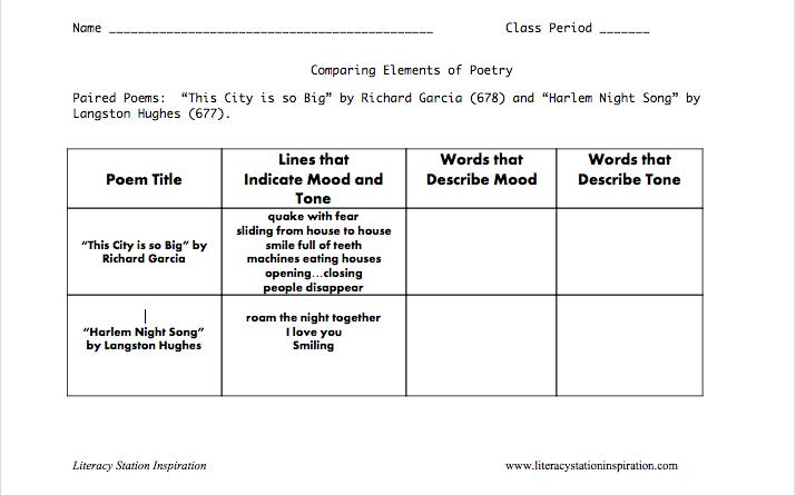 All Worksheets  Tone And Mood Worksheets - Printable ...