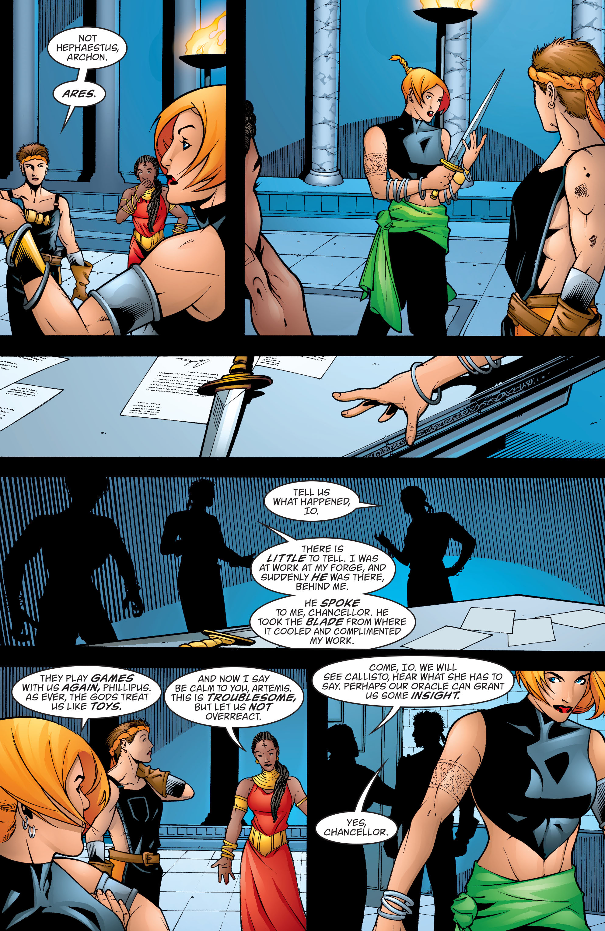 Read online Wonder Woman (1987) comic -  Issue #198 - 4