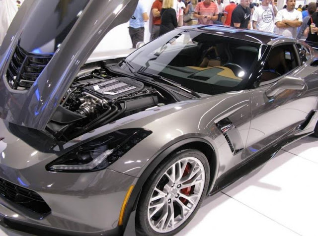 2018 Chevrolet Corvette ZR1 engine