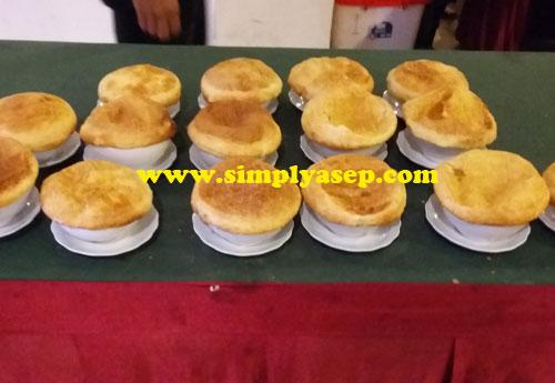 ZUPPA SOUP : Salah satu kuliner yang saya sukai Zuppa Soup ternyata ada juga disajikan di acara ini.  Wow. Suka banged.  Foto Asep Haryono