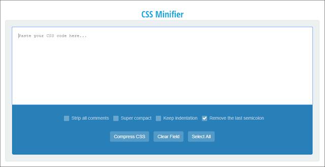 css minifier artterror23