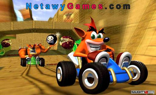 لعبه تحميل لعبة سباق كراش القديمة Crash Racing Team للكمبيوتر برابط واحد مباشر coobra.net
