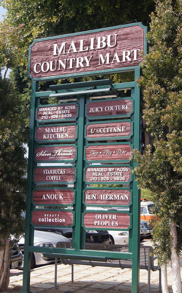 Mimi S Suitcase At The Malibu Country Mart