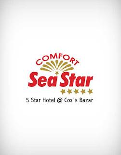 sea star vector logo, sea star logo, sea star, sea, star, restaurant, food court, bar, hotel, ice cream, fast food, rich food, sweet, curt