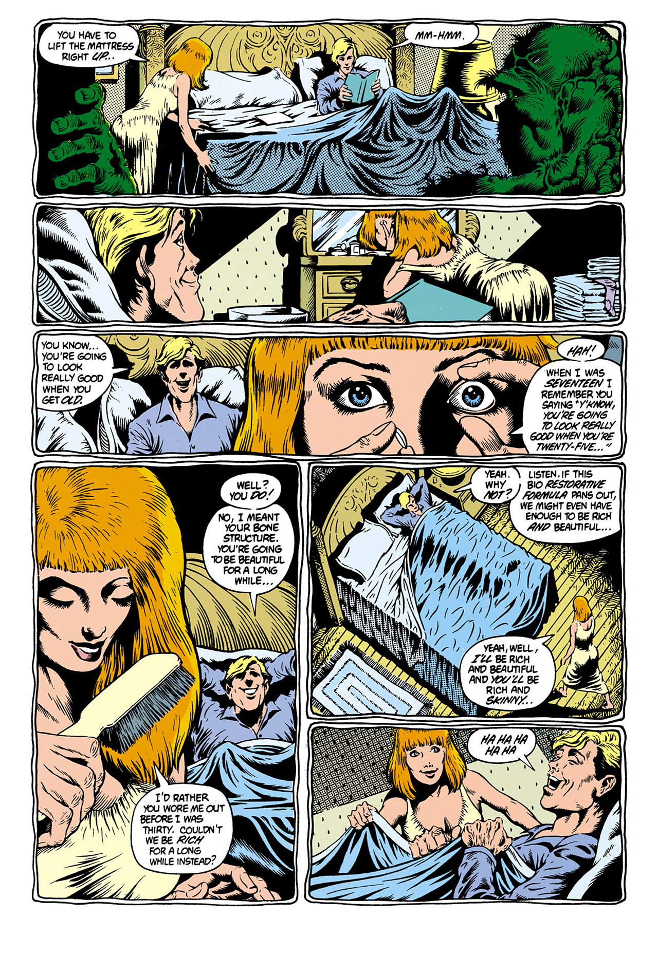 Swamp Thing (1982) Issue #28 #36 - English 12