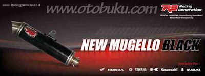 Harga Knalpot R9 New Mugello Black Terbaru dan Terlengkap