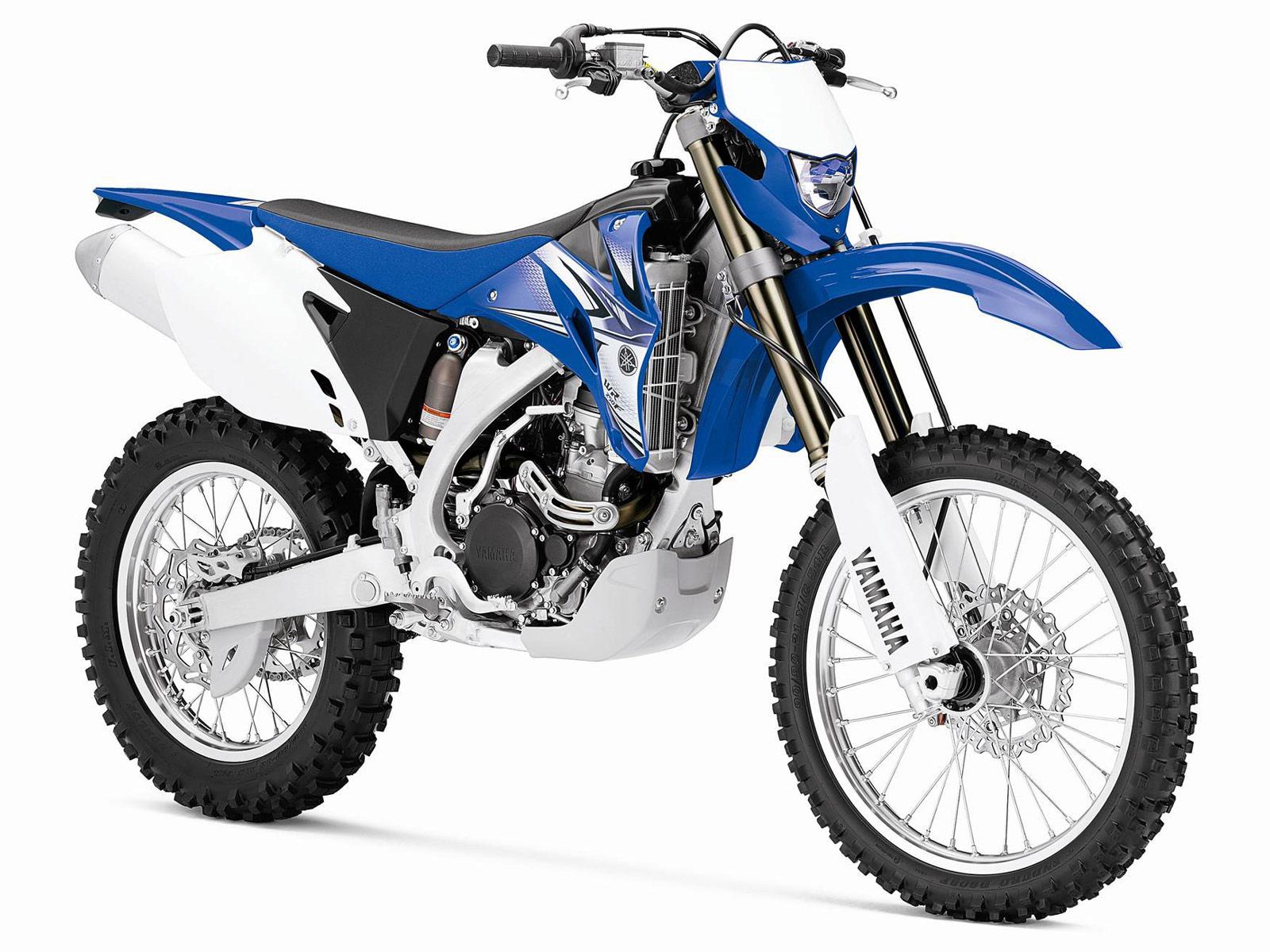 2012 YAMAHA WR250F Motorcycle Desktop Wallpapers