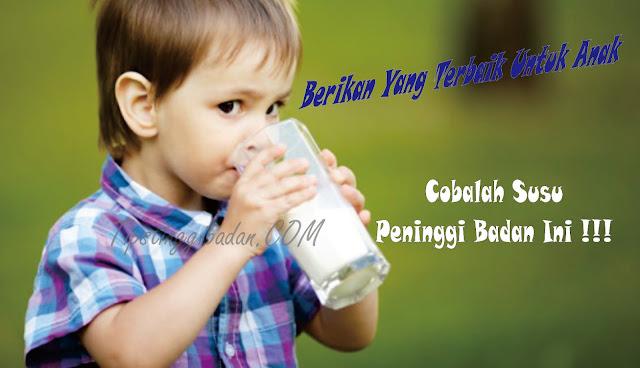 Susu Peninggi Badan Anak-anak