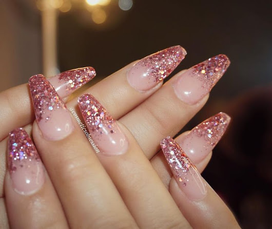 Nails With glitter