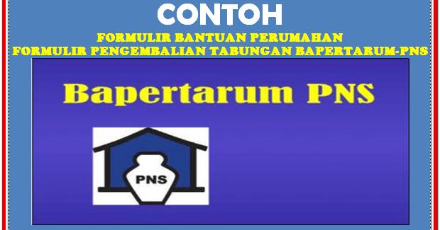 Contoh Format Bantuan Bapetarum Pns Sd Negeri 1 Asemrudung