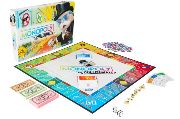 The New Monopoly for Millenials has arrived