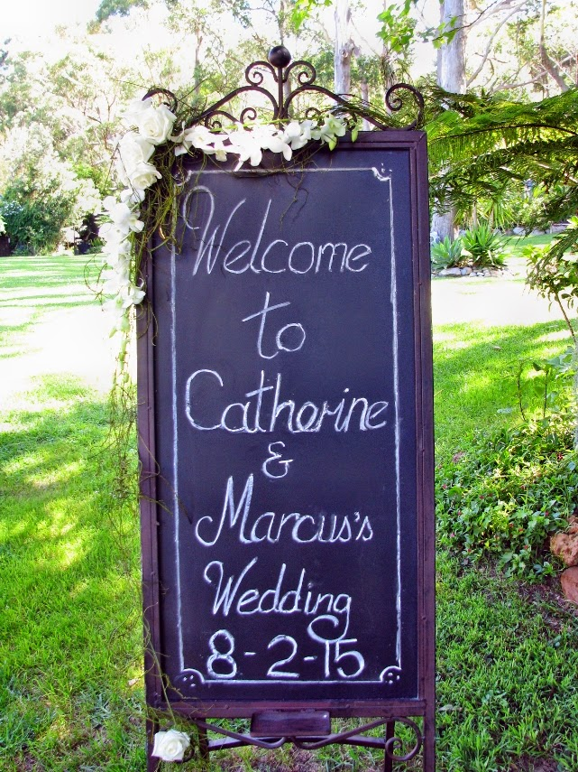 Wedding Ceremony & Reception | 8 February 2015 | Catherine & Marcus | Tumbling Waters Retreat, Stanwell Tops, Wollongong